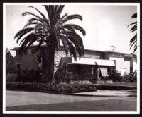 J. Phyromn Taylor Residence, designed by Paul R. Williams, Los Angeles,1955