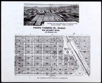 Map of showing lots in the town of Allensworth, circa 1908