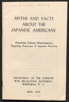 Myths and Facts About the Japanese Americans: Answering Common Misconceptions Regarding Americans of Japanese Ancestry
