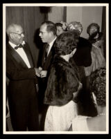 Fiftieth wedding anniversary of Drs. John and Vada Somerville, Los Angeles, 1962