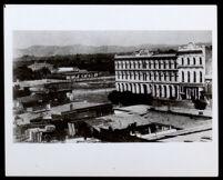 Pico House hotel, Los Angeles, circa 1871