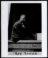 Roy Fowler, son of California Eagle reporter John Fowler, 1918