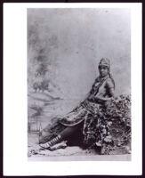 Anna Madah Hyers in a scene, circa 1880