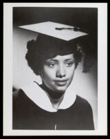 Margaret Danley when she received her M.A. degree at Howard University, Washington, D.C., 1953