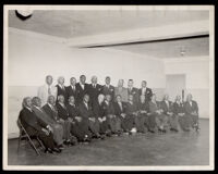 Past masters of local masonic lodges, Los Angeles, 1930-1950