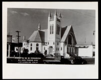 First African Methodist Episcopal Church, 8th and Towne Ave., Los Angeles, 1941