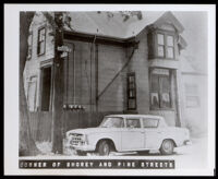Corner of Shorey and Pine Streets, Oakland (copy photo made 1930-1989)