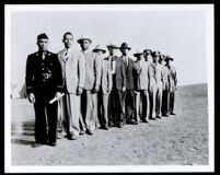 Visitor's Day at the Citizens' Military Training Camp at Fort MacArthur, San Pedro, 1940