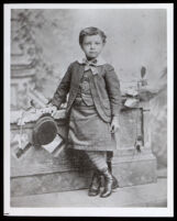 Charles Nelson Gibson as a child, Sacramento, circa 1885