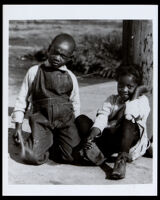 Two African American children, 1905-1950