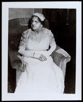 Sarah G. Johnson, between 1925-1955