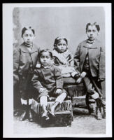 Children of William E. Towns and Alice Towns, San Francisco, circa 1878