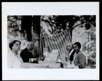 African Americans at a picnic, circa 1920