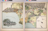 Official map of the county of Los Angeles