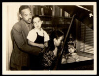 William Grant Still with his wife, Verna Arvey, and children, Duncan and Judith, Los Angeles, circa 1944