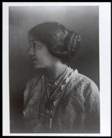 Dr. Alice Watkins Garrott as a young woman, circa 1910