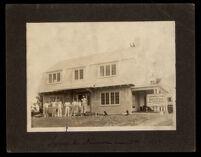 Tyler residence on Kenmore Avenue near Third Street, Los Angeles, 1914