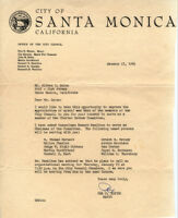 Alfred T. Quinn Charter Review Committee Letter from the mayor