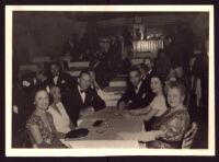 Souvenir photo taken at Joe Morris' Plantation Club, Los Angeles, 1942-1947