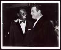 Nat King Cole, and Raymond Burr, 1950-1965