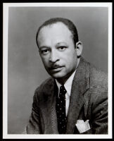 "Charles Alston, artist who painted the Golden State Mutual mural ""The Negro in California History - Exploration and Colonization,"" circa 1948"