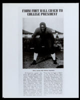 Brice Taylor in a football uniform at USC, Los Angeles, circa 1925