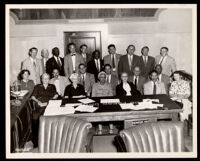 Dr. Vada Somerville with the Los Angeles Commission on Human Relations, Los Angeles, 1954