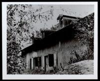 Pio Pico Adobe, Whittier (copy photo 1930-1989)
