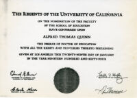 Doctor of Education Degree, UCLA