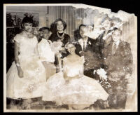 Wedding of Loren Miller, Jr., Los Angeles, 1957 (?)