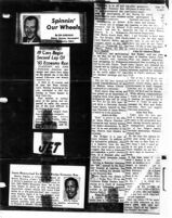 """Spinnin' Our Wheels, Newspaper Article (Le Vert """"Marty"""" Payne)"""