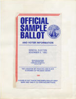 Official Sample Ballot 6 November 1990