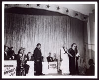 Sammie Franklin's Orchestra, Los Angeles, 1950s