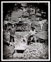 "African American and white gold miners at ""Spanish Flat,"" Placerville (vicinity), 1852"