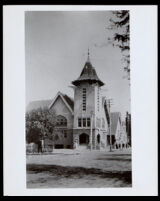 Wesley Chapel at San Julian and 8th Streets, Los Angeles, circa 1902-1909