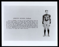 Johnny Riddle, USC college football player, Los Angeles, 1925