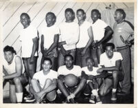 Original Santa Monica Basketball Team