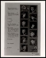 African American student portraits in the El Rodeo Yearbook, University of Southern California, 1925