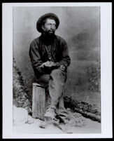Nathaniel Smith, pioneer and stagecoach driver in Mendocino County, circa 1880-1900