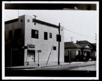 Commercial building owned by Margaret Scott, Los Angeles,1930-1950