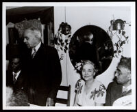 Dr. Alva Curtis Garrott, honored by a local dentist association, 1940s
