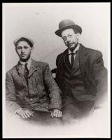 William Edgar Easton, Jr., and William Edgar Easton, Los Angeles, between 1907-1910