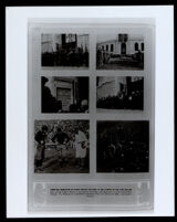 UCLA yearbook showing page with photographs of the new Los Angeles Memorial Coliseum, circa 1923
