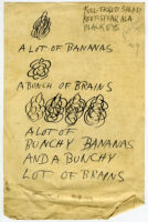 """""""A Lot of Bananas, A Bunch of Brains."""""""