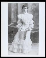 Mamie Cunningham, Los Angeles High school Graduation, 1905