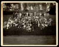 Bullock's department store employee picnic at Eastlake Park, Los Angeles, 1920s