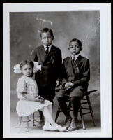 Helen, Willis and Barrett Boyd, Los Angeles or Riverside, circa 1915