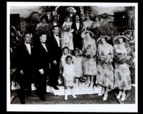 Wedding of Ruth and Hugh Bell, Los Angeles, 1925