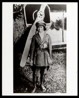 Bessie Coleman, African American airplane pilot, 1921-1926