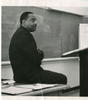 Alfred T. Quinn in classroom